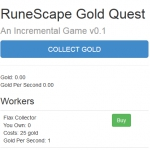 Runescape Gold Quest - Play Idle Game