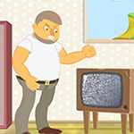 Old TV - Play Idle Game